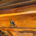 Meble kolonialne - kolonialna komoda z szufladami (ROYAL-1-MED)