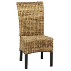 meble kolonialne - krzesło z wysokim oparciem(RD-089B)
