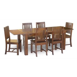 Meble Indyjskie – klasyczny drewniany stół z palisandru 160x90 rozkładany do 250 cm (RD-027A)