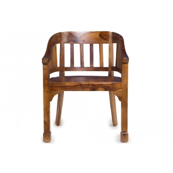 Meble orientalne - drewniany fotel gabinetowy (RD-029)