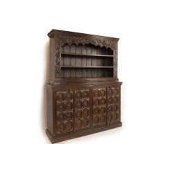 Meble Kolonialne - Kolonialna Antyczna Biblioteka (SDA-060)