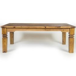 Meble  Kolonialne - Klasyczny drewniany stolik kawowy (RD-015)
