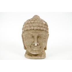 Rzeźba przedstawia głowę buddy (RD-GA-55)