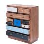 Meble Orientalne – drewniana komoda z szufladami