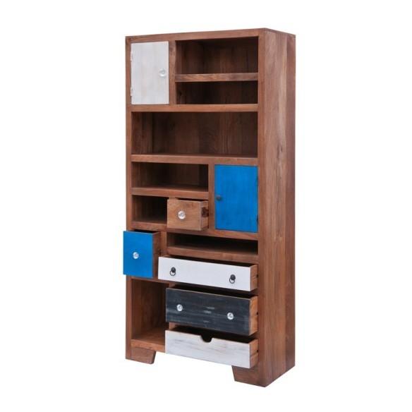 Meble orientalne drewniana biblioteczka z szufladami rd 142 for Art decoration meble