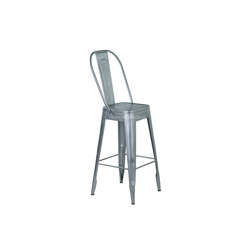Meble Industrialne – hoker metalowe industrialne krzesło barowe (INDS-CH-03)