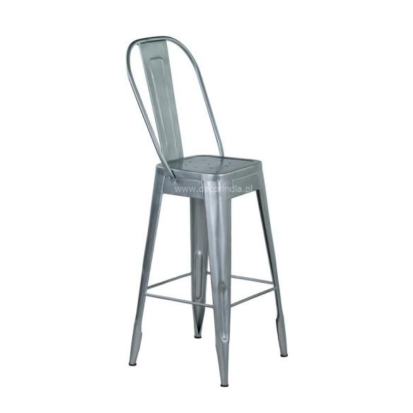 Meble Industrialne – metalowe industrialne krzesło barowe (INDS-CH-03)