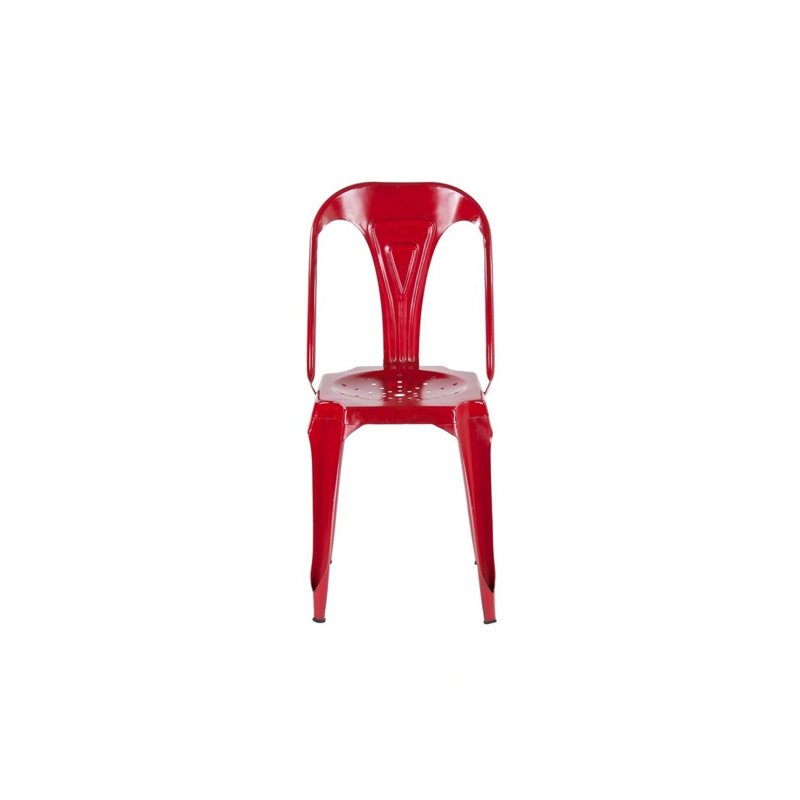 Meble Industrialne - metalowe industrialne krzesło do jadalni (INDS-CH-02A)