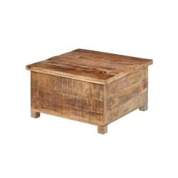 Meble Industrialne - drewniana skrzynia w stylu industrialnym (RD-2201B)