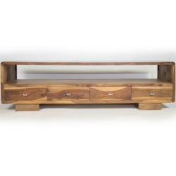 Meble indyjskie - Klasyczna szafka pod sprzęt RTV z szufladami (RD-144)