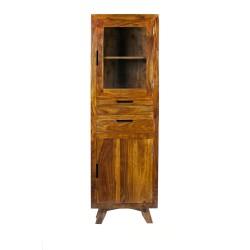Meble Kolonialne – drewniany regał– barek (RD-082C)