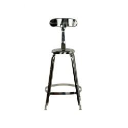 Meble Industrialne – hoker metalowe industrialne krzesło barowe (INDS-CH-04)