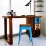 Meble Industrialne - Stolik metalowe krzesło stolik (INDS-CH-07G)