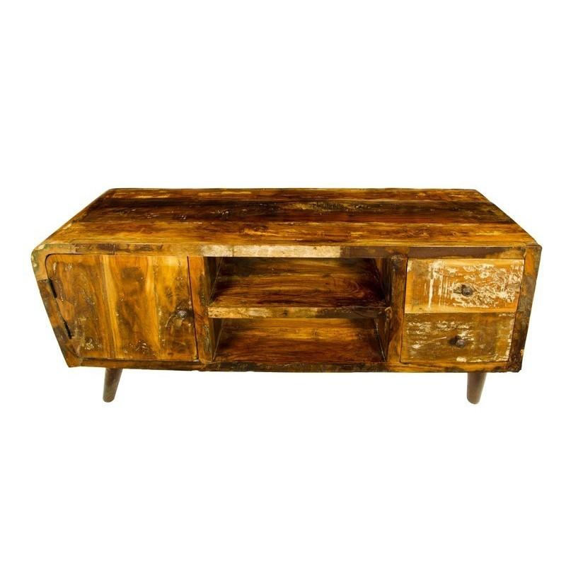 meble drewniane w stylu vintageretro