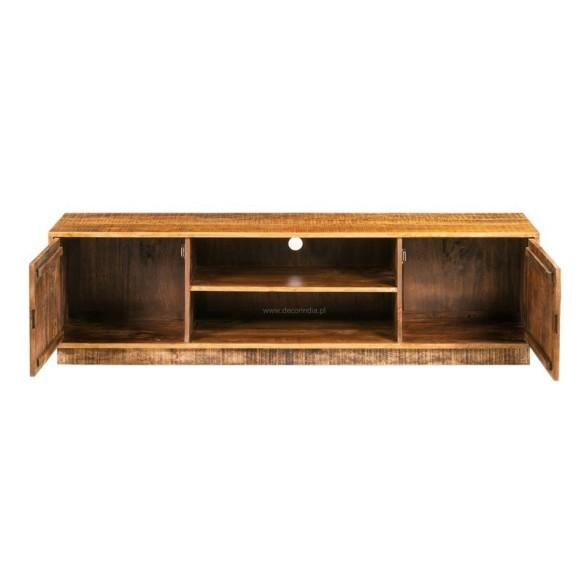 Meble z drewna mango szafka pod sprz t rtv z szufladami for Art decoration meble