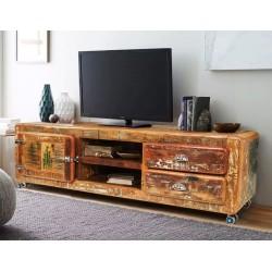 Meble vintage - komoda pod telewizor (VINTAGE-5A)