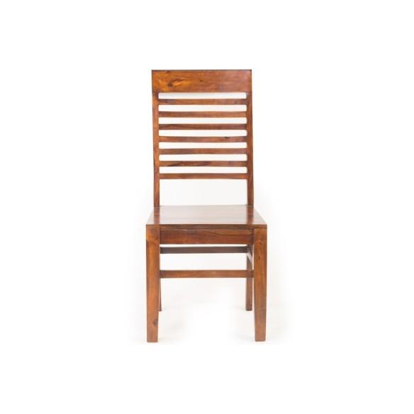 Meble Indyjskie - Tradycyjne drewniane krzesło (RD-003A)