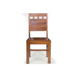 Meble Indyjskie -  Klasyczne krzesło do jadalni (RD-106)