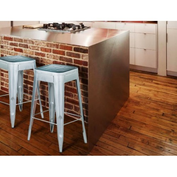 Meble Industrialne - hoker/metalowe krzesło barowe (INDS-CH-07C)