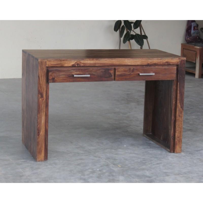 Meble z palisandru - drewniane biurko z palisandru (MTR-150)
