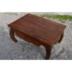 Meble kolonialne - drewniany stolik kawowy  (RD-068A)