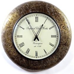 Meble kolonialne - zegar w stylu kolonialnym(Zegar-37)
