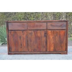 Meble Indyjskie - Nowoczesna komoda z szufladami - egzotyczne drewno (O-RD-096)