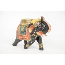 Indyjski słonik ręcznie malowany (GA-Ele-4)