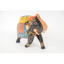 Indyjski słonik ręcznie malowany (GA-Ele-1)