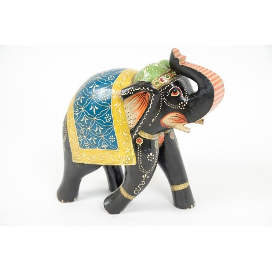 Indyjski słonik ręcznie malowany (GA-Ele-5)