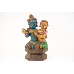 Indyjska figurka bóstwa (RD-GA-54)