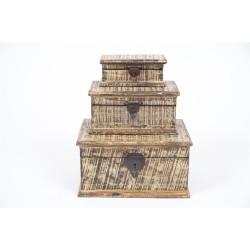indyjskie Skrzyneczka z ornamentem (MA-38)