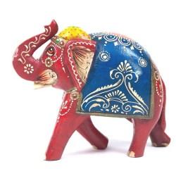Indyjski słonik ręcznie malowany (GA-ELE-9)