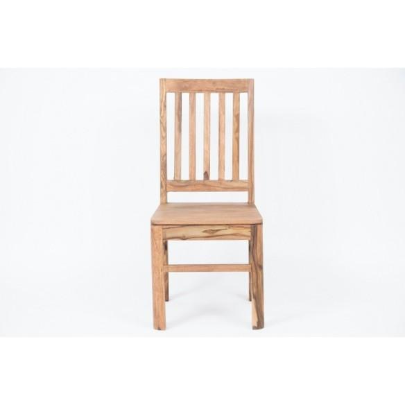 Meble z naturalnego palisandru - krzesło do jadalni (NY-128)