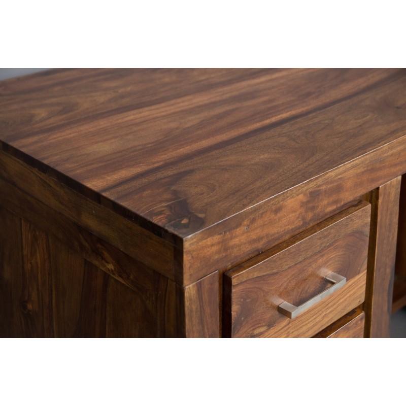 Meble z palisandru indyjskiego - biurko z szufladami (MTR-119)