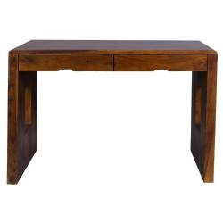 Meble indyjskie - biurko z szufladami w kolonialnym stylu (RD-093)