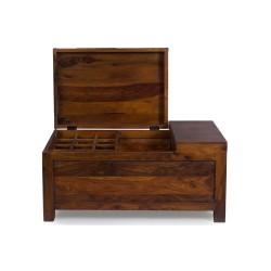 Meble indyjskie - kufer drewniany (RD-113)