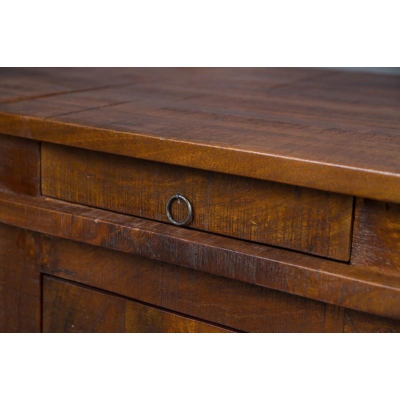 meble indyjskie biurko z szufladami w stylu kolonialnym