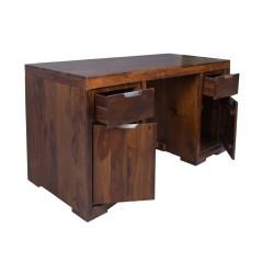 Meble z palisandru - biurko z palisandru (WM-128)