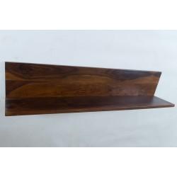 Meble z palisandru - półka na ścianę (WM-108)
