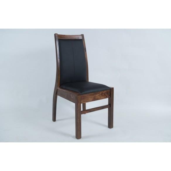 Meble z  palisandru - krzesło tapicerowane (mtr-135)