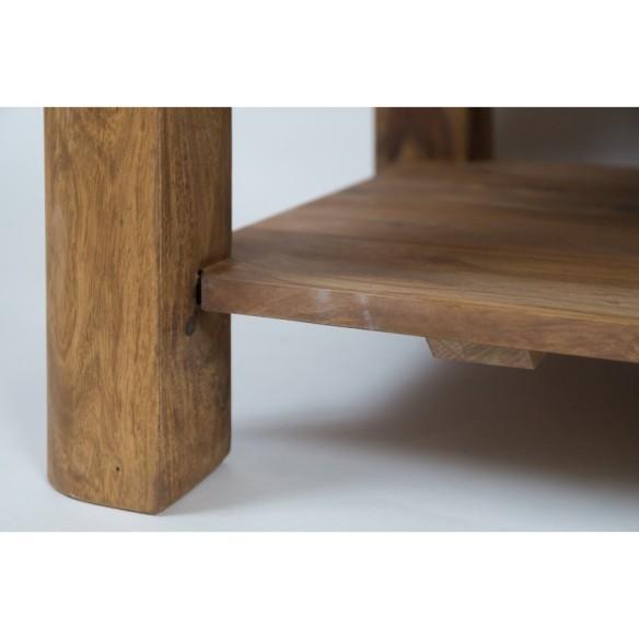 Meble z naturalnego palisandru - stolik kawowy (NY-105)