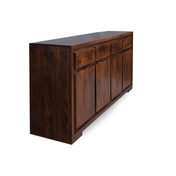 Meble Indyjskie - Nowoczesna komoda z szufladami - egzotyczne drewno (RD-096B)