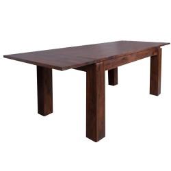 Meble indyjskie –  drewniany stół z palisandru rozkładany (RD-027R)