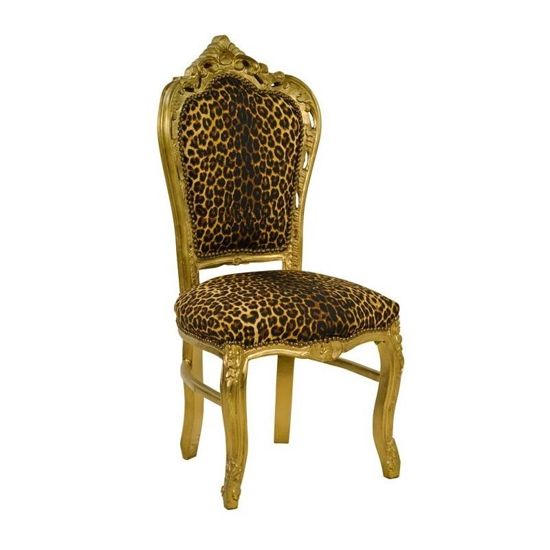 Meble glamour - zdobiony fotel glamour  (RD-CH-03)