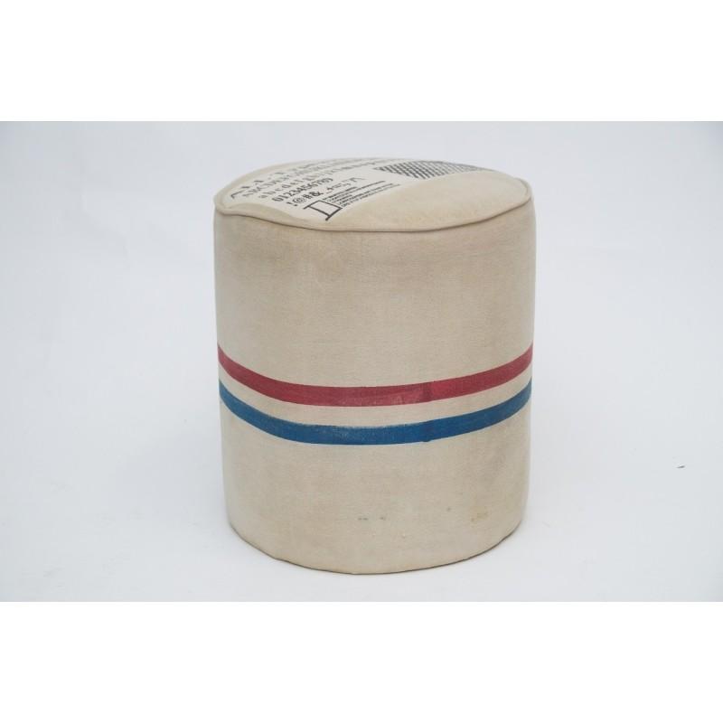 Pufa indyjska W Stylu Vintage Loft (PUF-5)