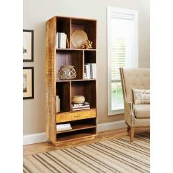 """Meble z jasnego drewna """"Mango Stripes"""" Biblioteka regał (MS-01)"""