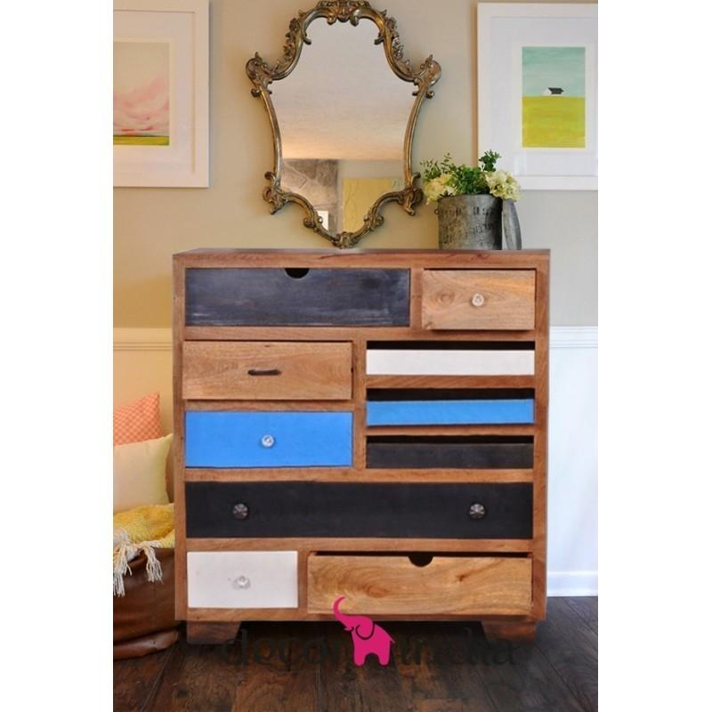 Meble indyjskie nowoczesne biurko z szufladami rd 141 for Art decoration meble