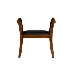 Meble kolonialne - krzesło pianisty (RD-055)