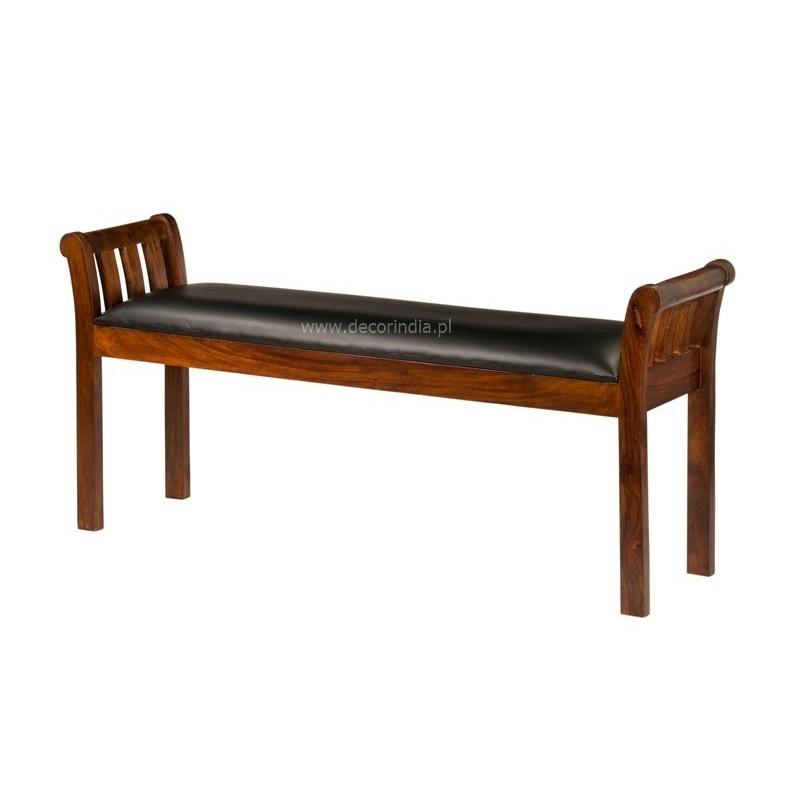 Meble kolonialne - krzesło pianisty (RD-055A)